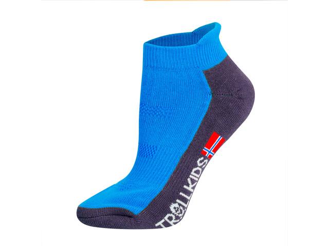 TROLLKIDS Hiking II Low Cut Socks Kids medium blue